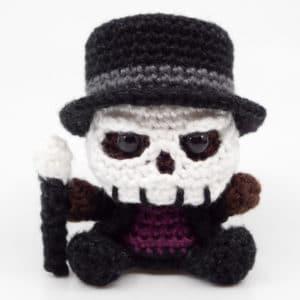 Amigurumi Baron Samedi Crochet Pattern