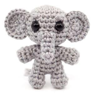 Elephant Crochet Pattern – Mini Noso