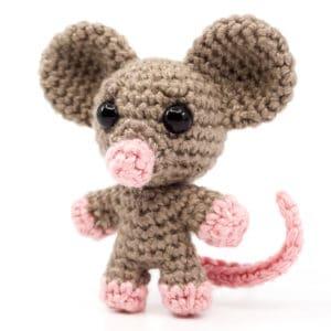 Mouse Crochet Pattern – Mini Noso