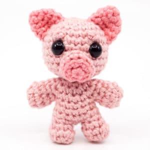 Pig Crochet Pattern – Mini Noso