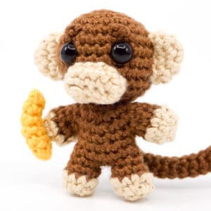 Monkey Crochet Pattern – Mini Noso
